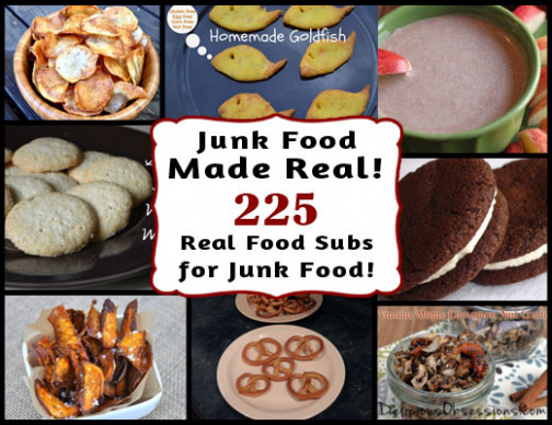 Real Food Recipes to Replace Your Favorite Junk Foods - recipes junk food
