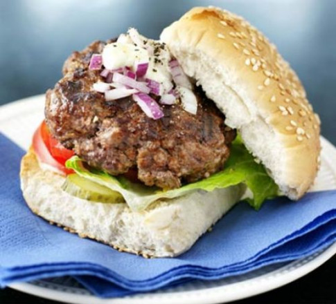 Really Easy Beefburgers Recipe | BBC Good Food - Recipes Bbc Good Food