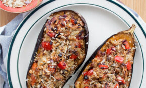 Receta: Berenjenas Rellenas De Carne Y Queso – Recipes With Eggplant Healthy