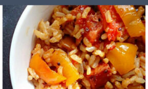 Recipe: Cajun Peppers & Rice With Kielbasa – My Life ..