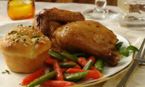 RECIPE: Cornish Hen With Roasted Vegetables – No Sugar Recipes Dinner
