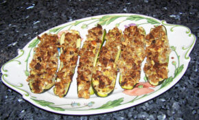 Recipe For Greek Stuffed Zucchini – Quick Cooking – Zucchini Recipes Vegetarian Main Dish