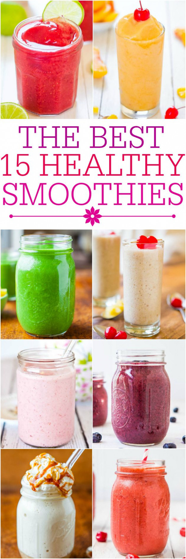 Recipe For Smoothies ♥ Healthy Smoothie Drinks - Recipes Healthy Smoothies
