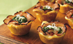 Recipe: Ham Florentine Mini Cups – Recipes Dinner Italian