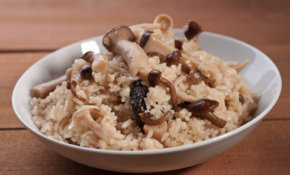 Recipe: Japanese Mushroom Brown Rice