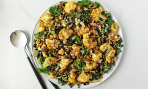 Recipe: Jessica Sepel's Vegetarian Curried Cauliflower Salad – Jessica Sepel Recipes Dinner