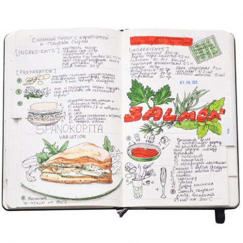Recipe Journal 2 | Cookbooks | Food Journal, Art ..