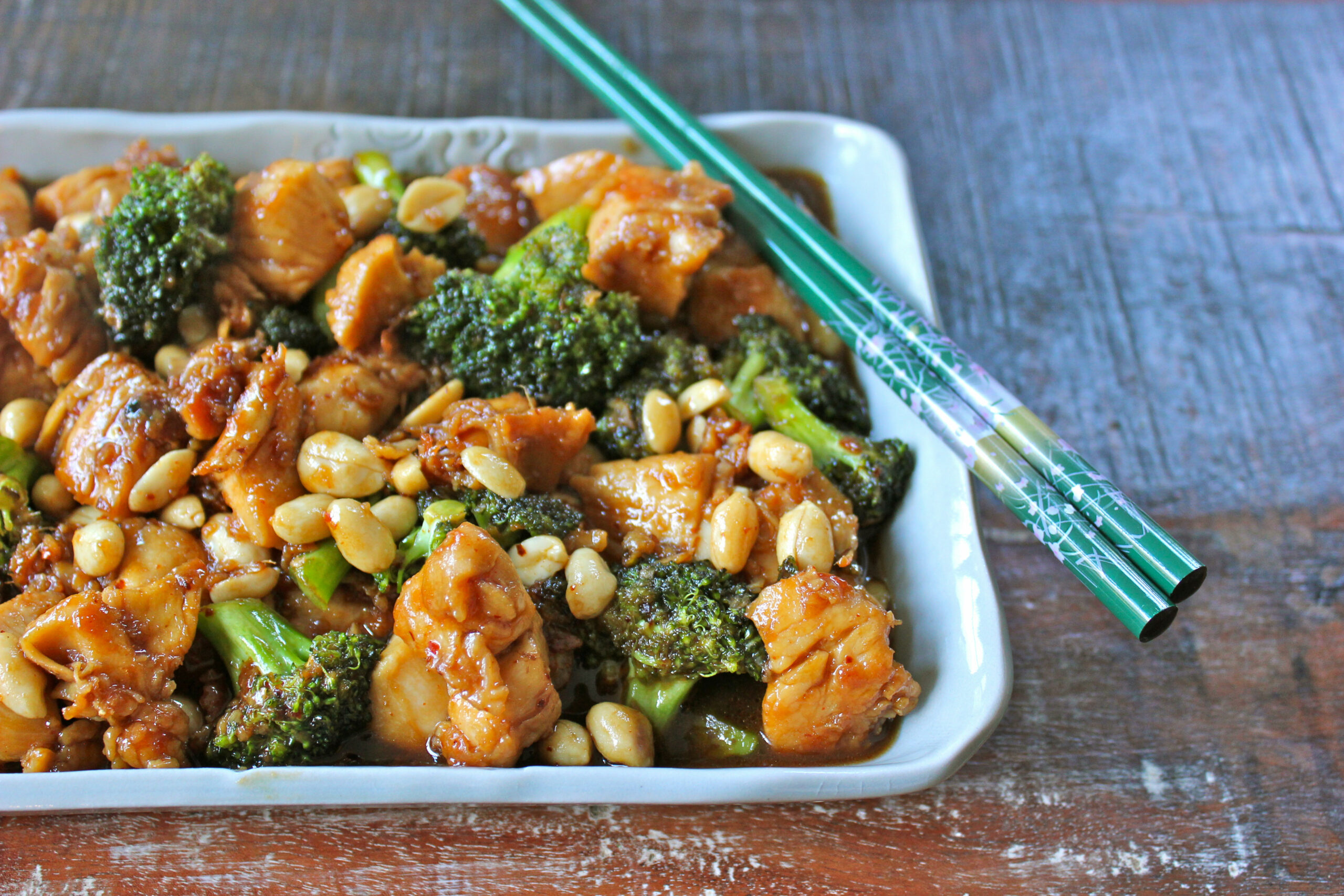 recipe} Kung Pao Chicken & Broccoli— off the (meat)hook - recipes kung pao chicken