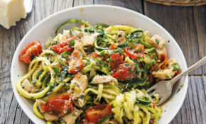 Recipe: Lemon Garlic Chicken Zoodles | Rock Chef Rolls – Chicken Recipe Zoodle