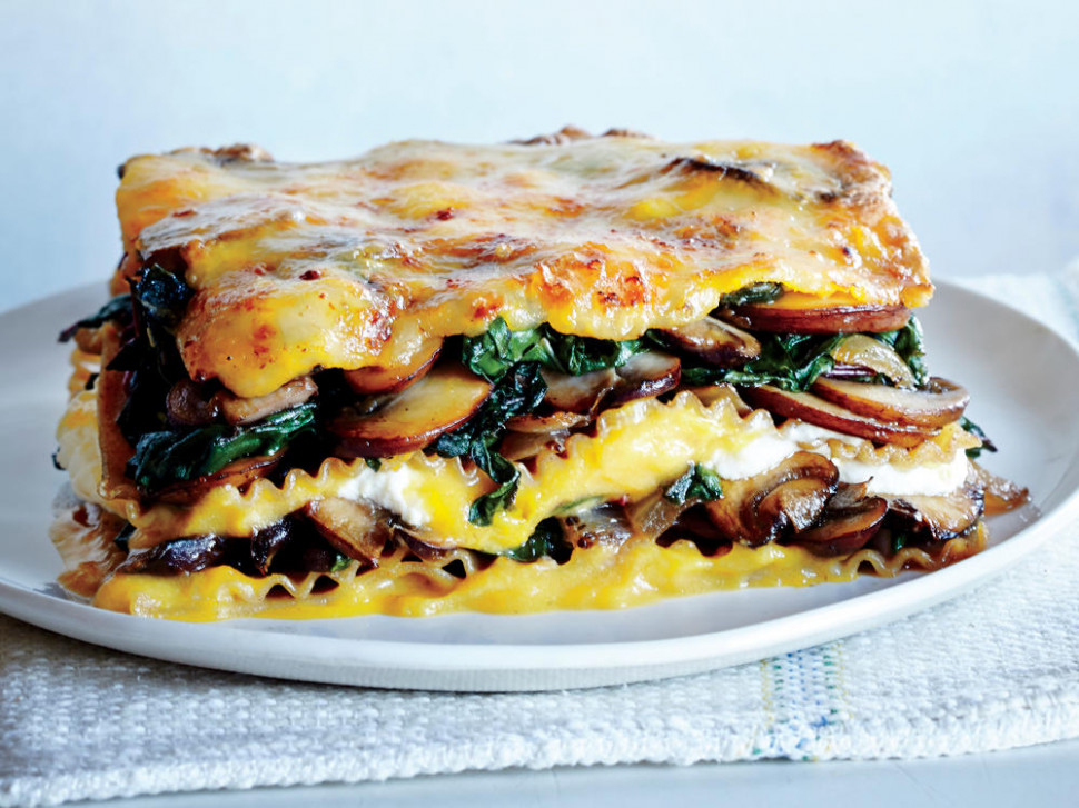 Recipe Makeover: Lighter Vegetable Lasagna - Cooking Light - recipes for vegetarian lasagna