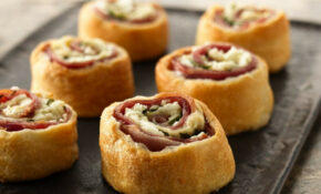 RECIPE: Mediterranean Crescent Pinwheels – Baked Recipes Dinner