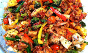 Recipe: Mediterranean Tempeh With Vegetables | IEatGreen – Vegetarian Mediterranean Recipes