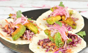 Recipe: Pan Fried Avocado Tacos With Pickled Onions | The ..