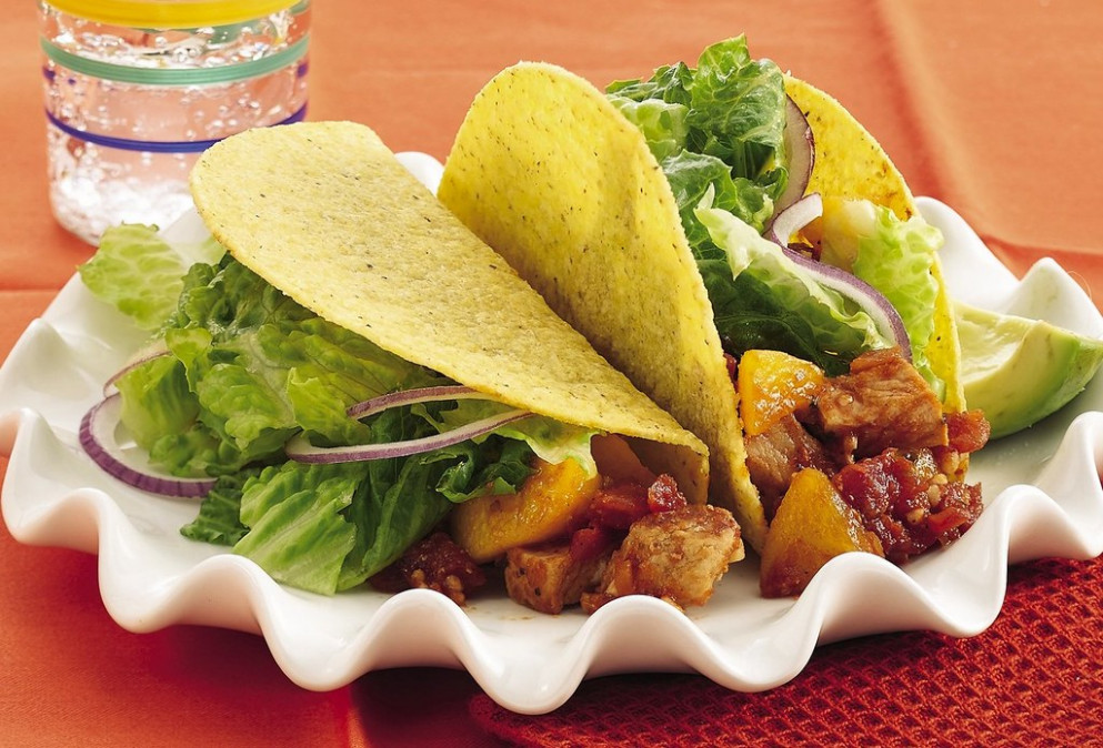 RECIPE: Peachy Chipotle Pork Tacos - Top Authentic Mexican Food Recipes