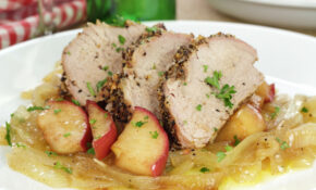 Recipe: Pork Tenderloin With Apples and Onions – Health ...