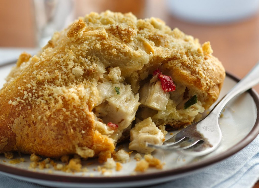 Recipe: Savory Crescent Chicken Squares - cream cheese recipes dinner