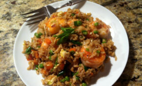 RECIPE] Shrimp Fried (Brown) Rice • EBONY – Healthy Brown Rice Recipes