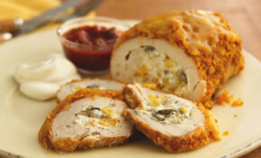 Recipe: Southwestern Cheese Stuffed Chicken Roll Ups – Dinner Recipes No Oven