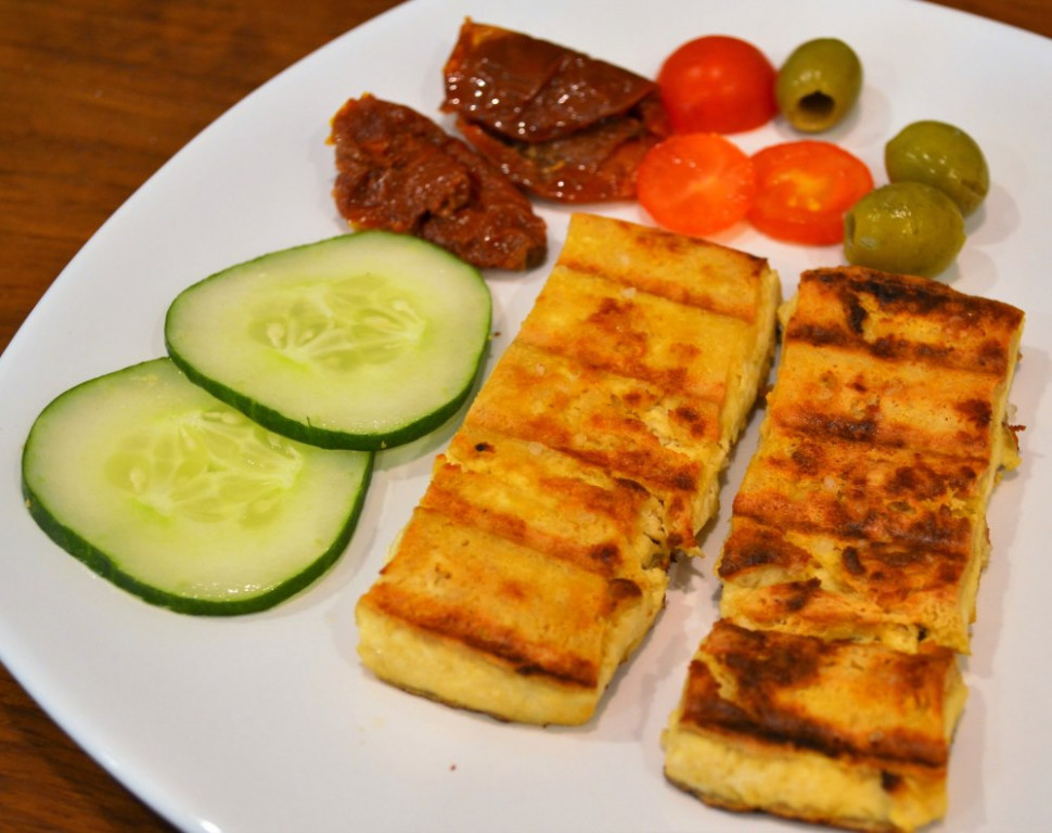 Recipe: Vegan Halloumi | Planet Veggie - recipes vegetarian and meat eater