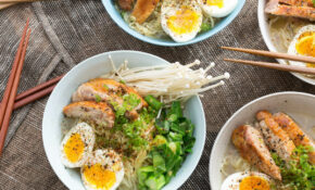 Recipe: Winter Chicken Ramen With Choy Sum, Soft Boiled ..