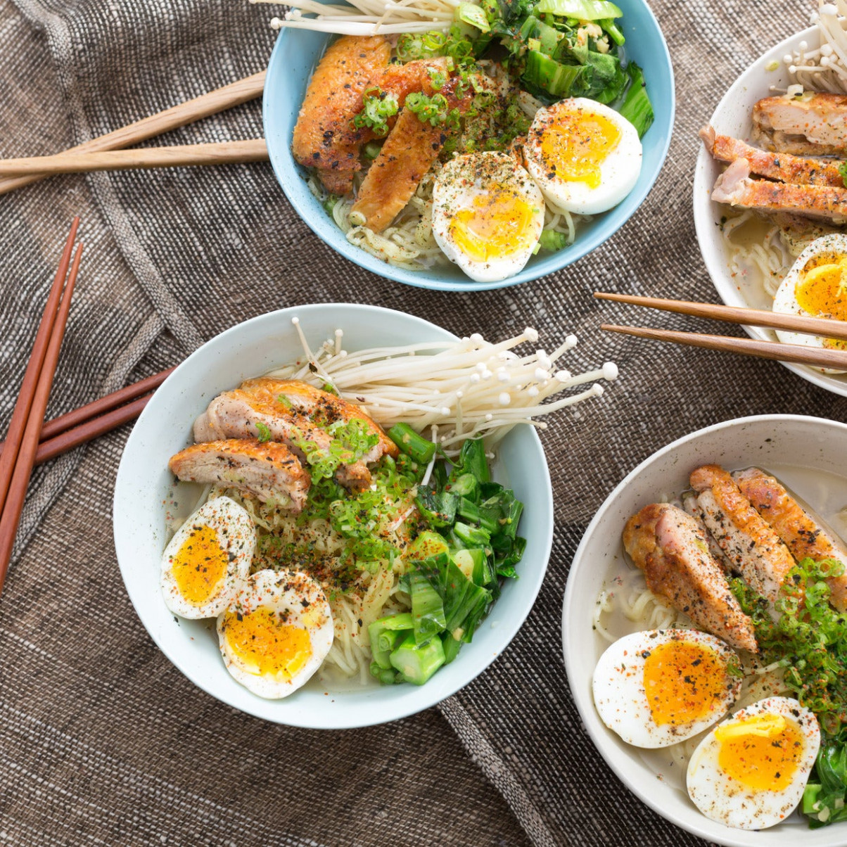 Recipe: Winter Chicken Ramen with Choy Sum, Soft-Boiled ..
