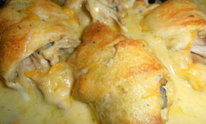 Recipes For You: Mamas Chicken Roll Ups – Chicken Recipes Using Cream Of Chicken Soup