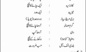 Recipes In Urdu Book Pdf | Amtrecipe
