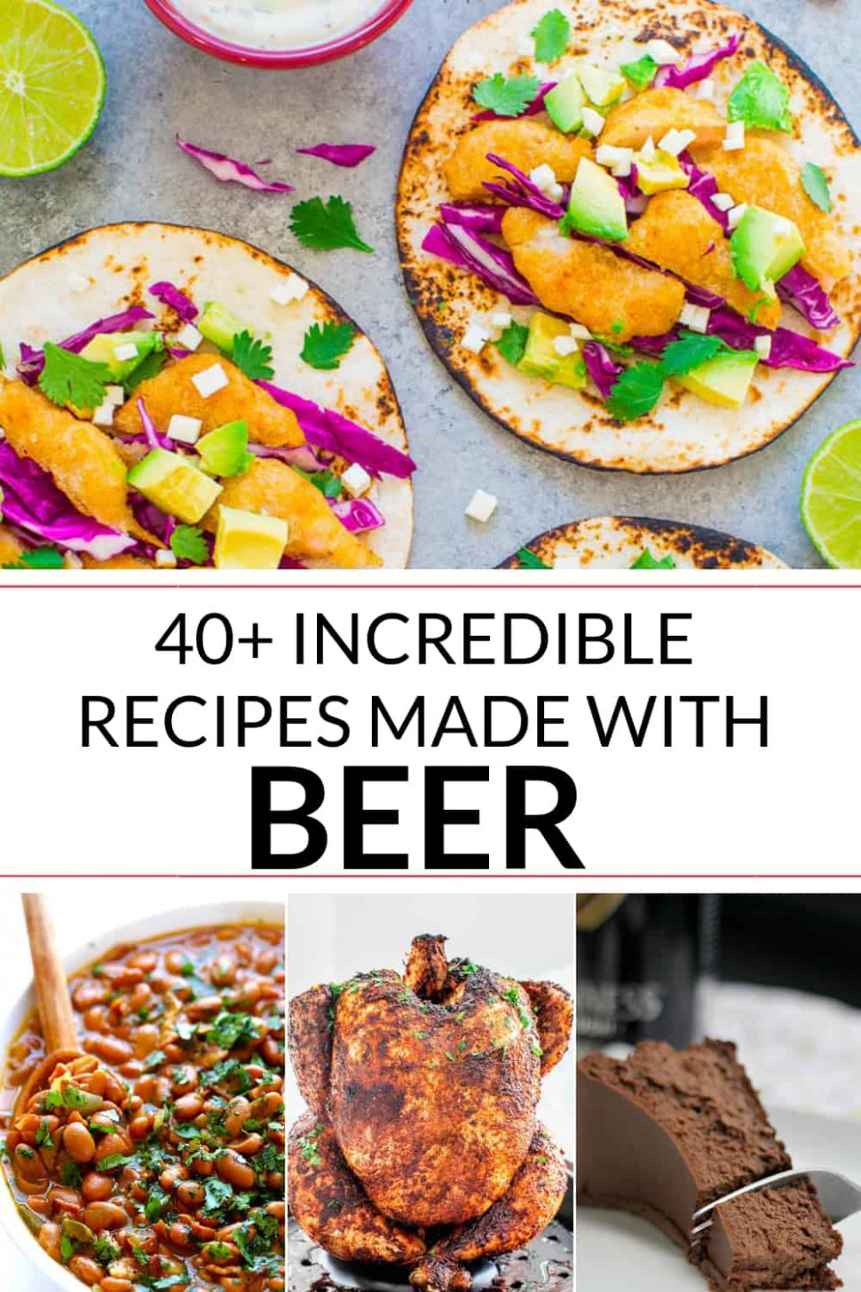 Recipes Made with Beer | It Is a Keeper - food recipes using beer