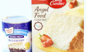 recipes with angel food cake mix and pie filling