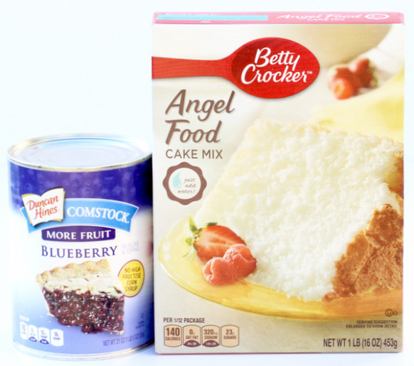 recipes with angel food cake mix and pie filling - recipes using angel food cake mix