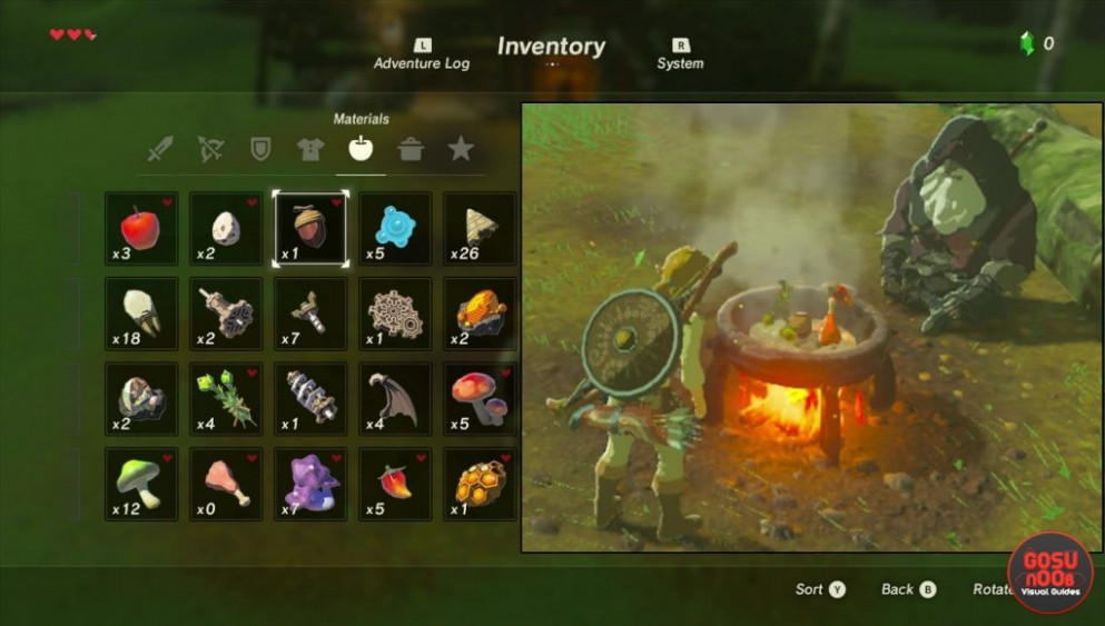 Recipes Zelda Breath Of The Wild - Best Recipes Around The ..