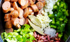 Red Beans And Rice In The Slow Cooker – Recipe Vegetarian Red Beans And Rice