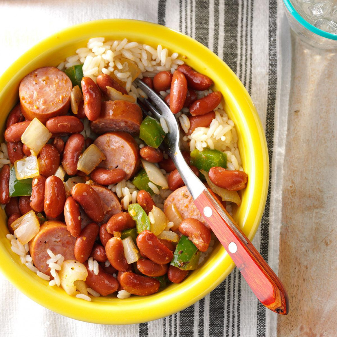Red Beans and Sausage - dinner recipes diabetic