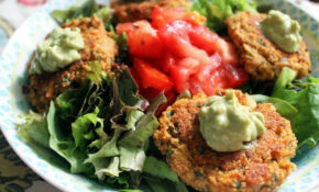 Red Lentil And Amaranth Protein Patties With Spicy Avocado ..