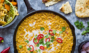 Red Lentil Dhal With Roasted Cauliflower And Butternut Squash – Recipes Lentils Vegetarian