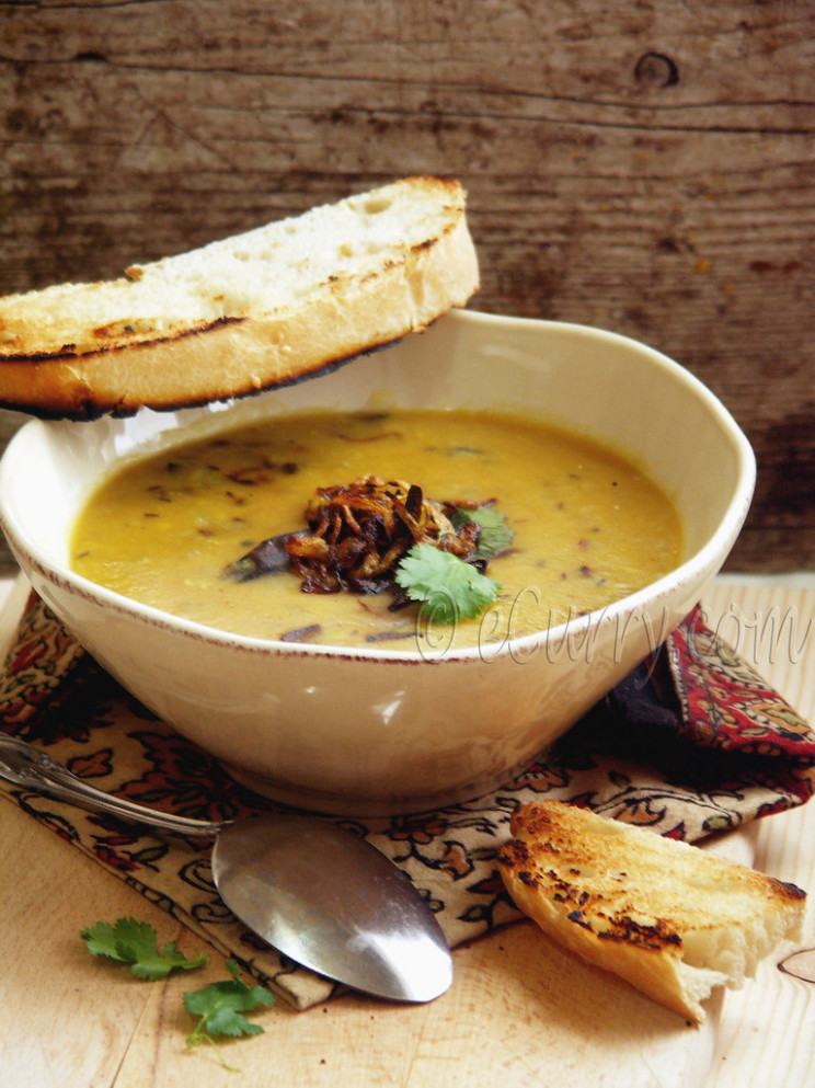 Red Lentils with Cumin & Fried Onion - recipes comfort food healthy