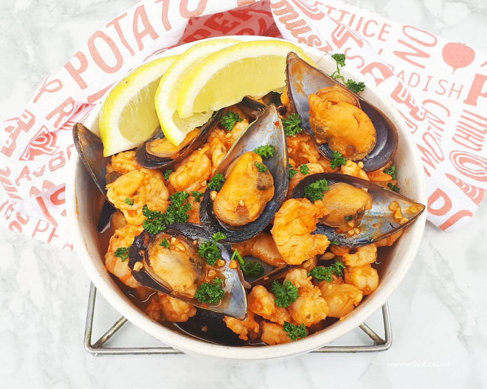 Red Prawns And Mussels - prawn recipes dinner