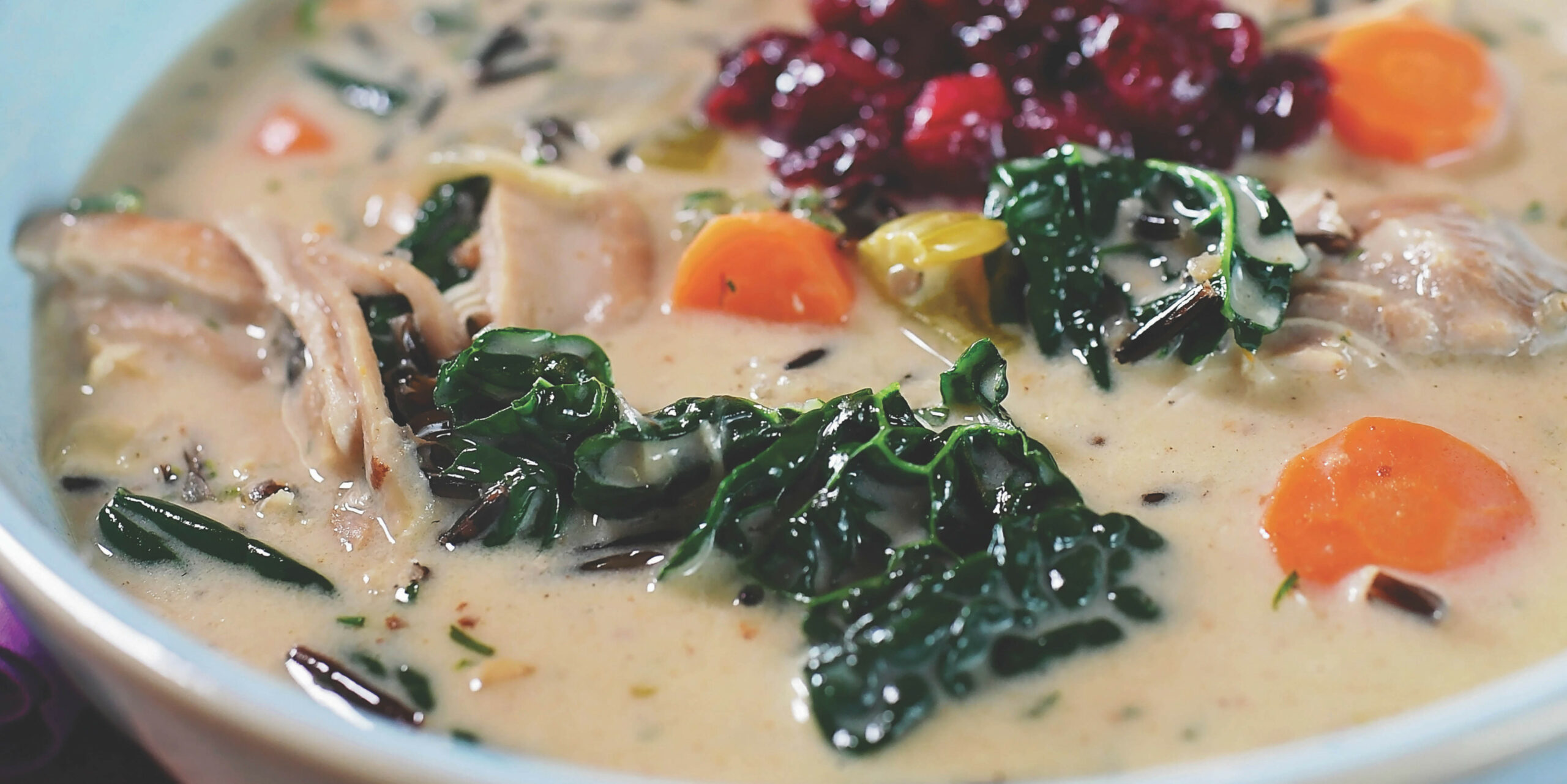 Ree Drummond's Creamy Chicken And Wild Rice Soup - Pioneer Woman Recipes Chicken