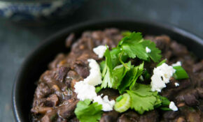 Refried Black Beans – Healthy Recipes Refried Beans