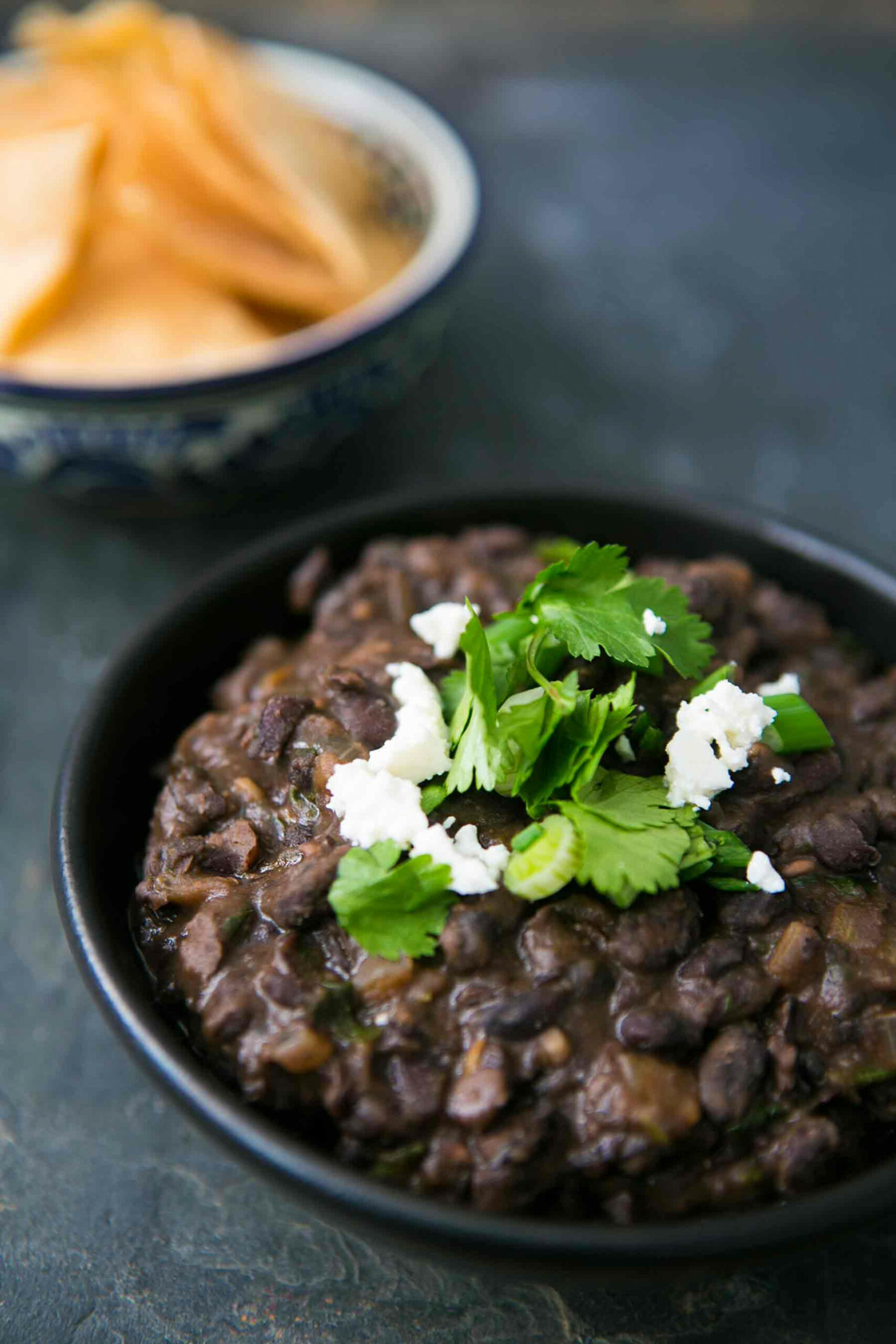Refried Black Beans - healthy recipes refried beans