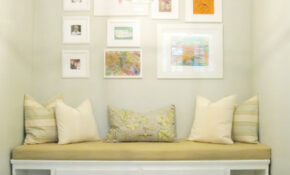 Remodelaholic | Built In Banquette From Recycled Cabinet – Healthy Recipes Instagram