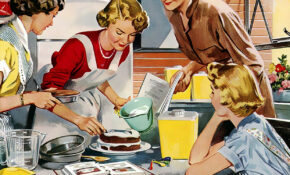 Retro, Vintage, Home, Cake, Dessert – Recipes Lifestyle Food
