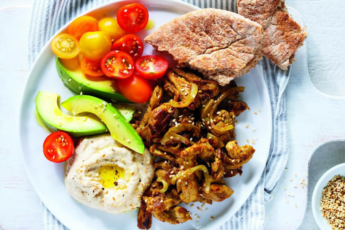 Ricardo's shawarma-style chicken is quick and easy to make ..