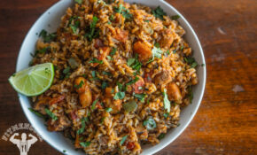 Rice Cooker Spanish Rice With Chicken & Shrimp – Fit Men Cook – Rice Cooker Recipes Chicken