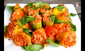 Rice Stuffed Bell Peppers Recipe – Heghineh Cooking Show ..