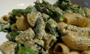 Rigatoni With Asparagus, Ramps, Pesto, And Ricotta – Ricotta Recipes Dinner