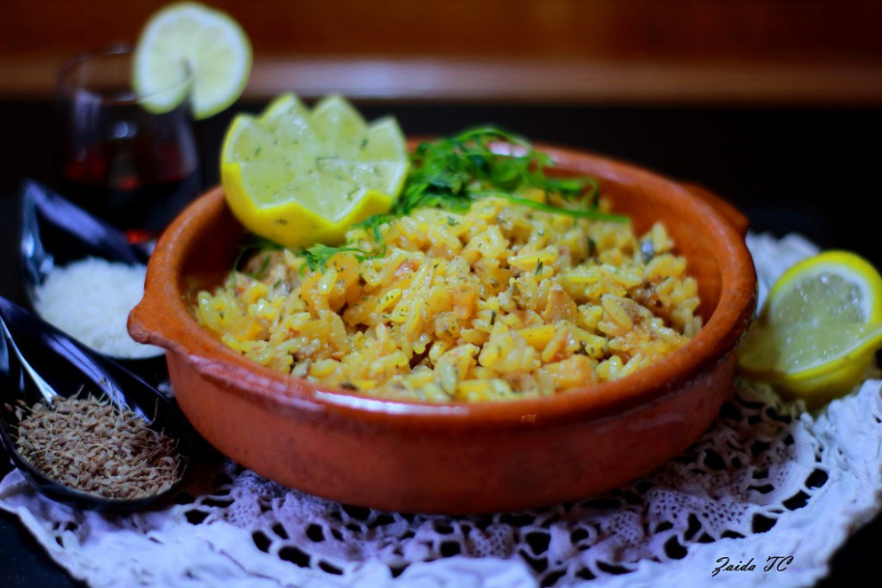 RISOTTO DE HORTALIZAS ANISADO - stir fry recipes vegetarian
