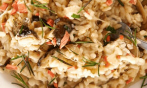 Risotto With Ham And Mushrooms – A Very Healthy Recipe – Healthy Risotto Recipes