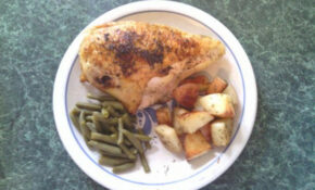 Roast Chicken Breast (Bone In, Skin On). Photo by Lila1083