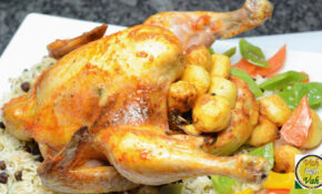 Roast Chicken Masala – By Vahchef @ Vahrehvah